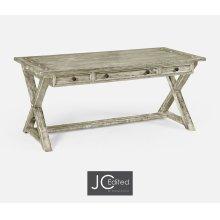 Rustic Grey Desk