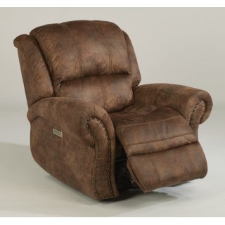 Patton Fabric Power Recliner with Power Headrest