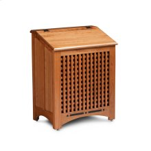 Aspen Clothes Hamper with Inlay