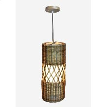 (LS) Willow Pendant -1 bulb light (8X8X20)