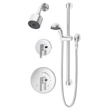 Symmons Dia® Shower/Hand Shower System - Polished Chrome