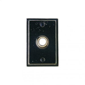 Stepped Doorbell Button Silicon Bronze Brushed Product Image