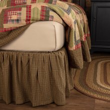 Tea Cabin Twin Bed Skirt 39x76x16