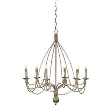 Victorian Chandelier 6 Light