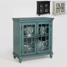Francesca Accent Cabinet Aqua