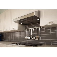 """30"""" Gust Under-Cabinet Euro-Pro Hood with Mesh Filters - Stainless Steel"""