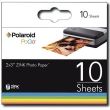 Polaroid Zink Media Photo Paper for Polaroid Pogo Cameras and Printers (10-pack)