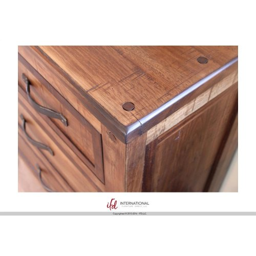 5/0 Footboard Storage & 5/0 Rails -Shipped together w/footboard storage