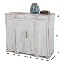 White Swan Tall Sideboard