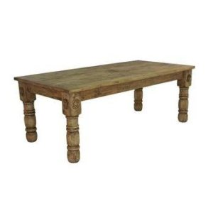 8' Wood Table W/Star