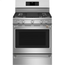 """Café 30"""" Smart Free-Standing Gas Range with Convection"""