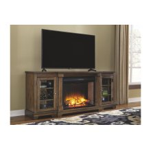 Flynnter - Medium Brown 2 Piece Entertainment Set