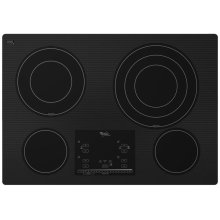 """Gold® 30-inch Electric Ceramic Glass Cooktop with 12""""/9""""/6"""" Triple Radiant Element- IN STORE ONLY (FLOOR MODEL)"""