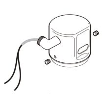 Commercial ac flush valve cap