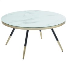 Cordelia Coffee Table in White