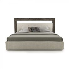 Upholstered bed, queen / king