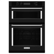 """30"""" Combination Wall Oven with Even-Heat™ True Convection (Lower Oven) - Black Product Image"""