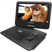 """9"""" Portable DVD Player with 5-Hour Battery (Black)"""