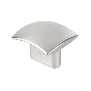 Small Rectangular Knob 34MM..STAINLESS Steel Look Product Image