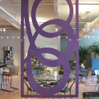 Hanging Room Divider, Solo Product Image