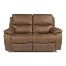 Hendrix Fabric Power reclining Loveseats with Power Headrests