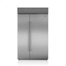 """48"""" Classic Side-by-Side Refrigerator/Freezer with Internal Dispenser"""