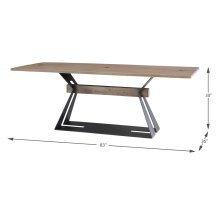 Rift Dining Table