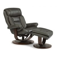 Hunter Fabric Chair and Ottoman Product Image