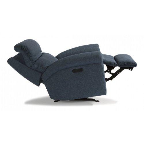 Davis Fabric Power Recliner with Power Headrest