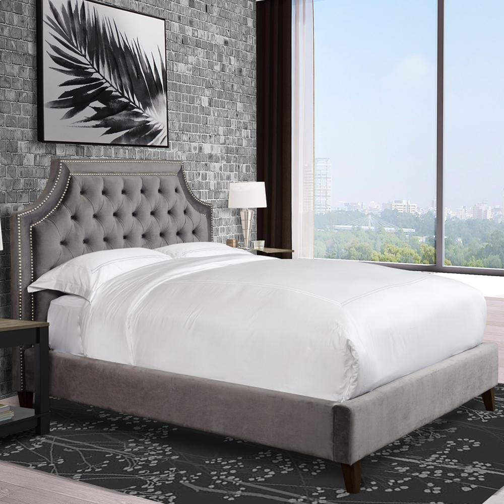 Jasmine Flannel (Grey) California King Bed 6/0