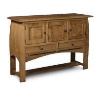 Aspen Open Sideboard with Inlay Product Image