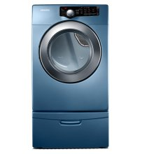 7.3 cu. ft. King-size Capacity Gas Front Load Dryer (Blue)