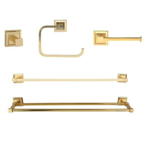 Stanton Robe Hook - Antique Brass