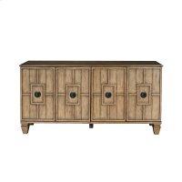 Tradewinds Four Door Sideboard in Honey Brown Product Image