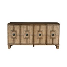 Tradewinds Four Door Sideboard in Honey Brown