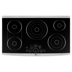 "LG STUDIO 36"" Electric Cooktop Product Image"