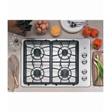 "30"" Built-In Deep-recessed Gas Cooktop"