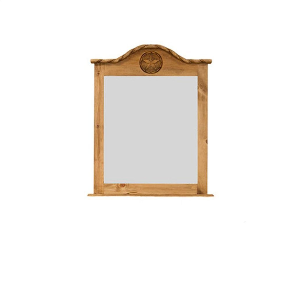 Mirror W/Rope and Star