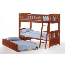 Cinnamon Trundle Bed