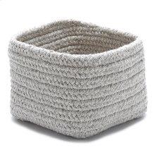 "Natural Shelf Storage Basket AT31 Light Gray 11"" X 8"""