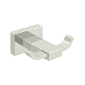 Double Robe Hook, 55D Series - Polished Nickel Product Image