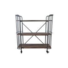 Emerald Home Ac102-45 Winston Bookcase, Patina Gray