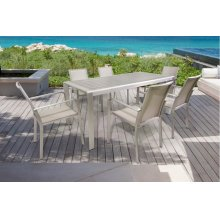 Renava Diego Outdoor Grey Dining Table Set