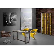 Modrest Clinton - Modern Brown Office Desk
