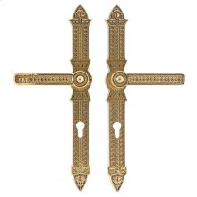 "Briggs Multi-Point Entry Set - 2"" x 15"" Silicon Bronze Brushed"