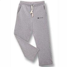 Open Bottom Sweat Pants - Lg