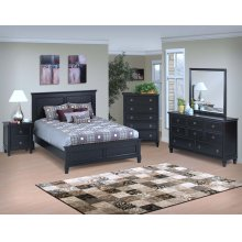 Tamarack Black Twin Bed