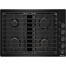 """30"""" JX3 Gas Downdraft Cooktop, Black Product Image"""