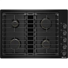 "30"" JX3™ Gas Downdraft Cooktop, Black"