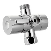 Moen chrome shower arm diverter